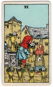 Taurių šeši taro korta