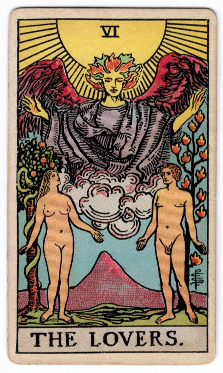 Įsimylėjėlių korta taro korta