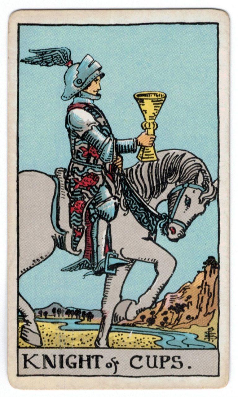 Taurių riterio taro korta