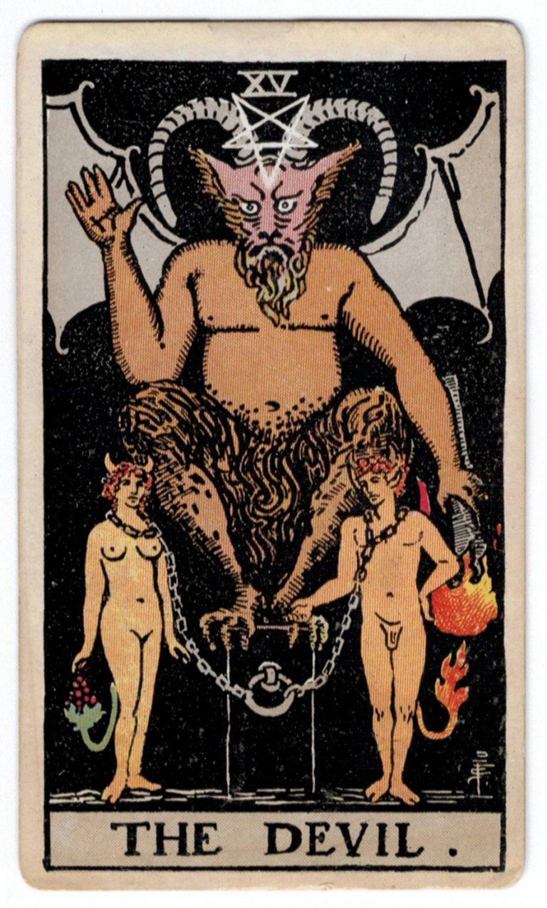 Velnio taro korta